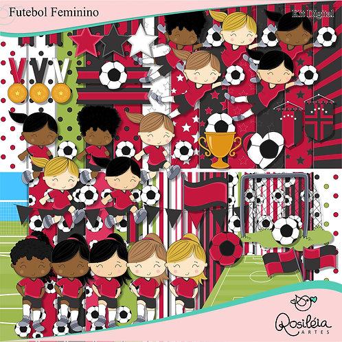 Kit Digital Futebol Feminino