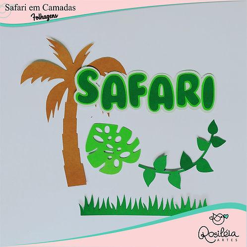 Arquivo Safari Camadas Folhagens