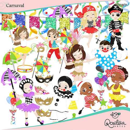Cliparts Carnaval