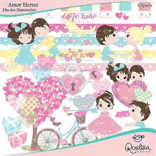 Kit Digital Amor Eterno_Dia dos Namorados