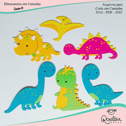Combo Dinossauros Camadas 01