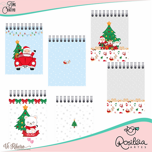 Arquivo Digital Bloquinho Um Natal Especial por Vê Ribeiro