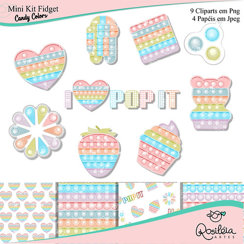 Mini Kit Fidget Candy Colors