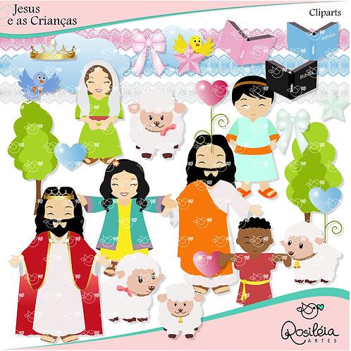 Kit Digital Jesus e as Crianças_Tema Bíblico