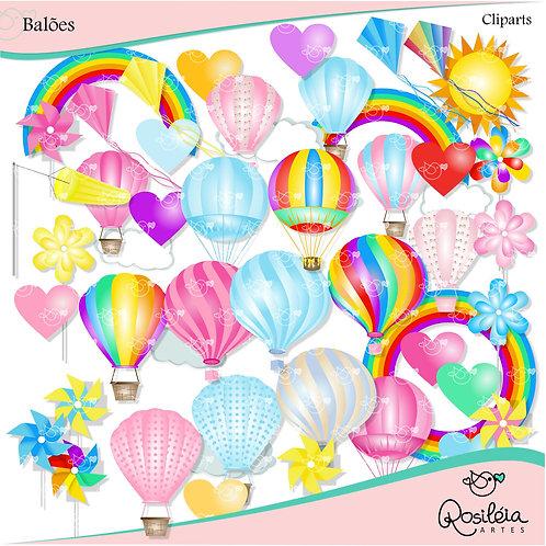 Kit Digital Balões
