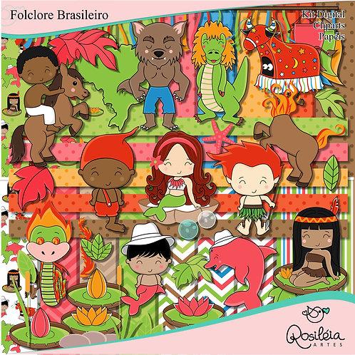 Kit Digital Folclore Brasileiro