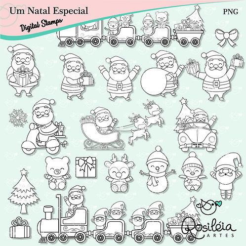 Digital Stamps Um Natal Especial