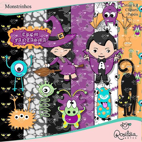 Mini Kit Monstrinhos
