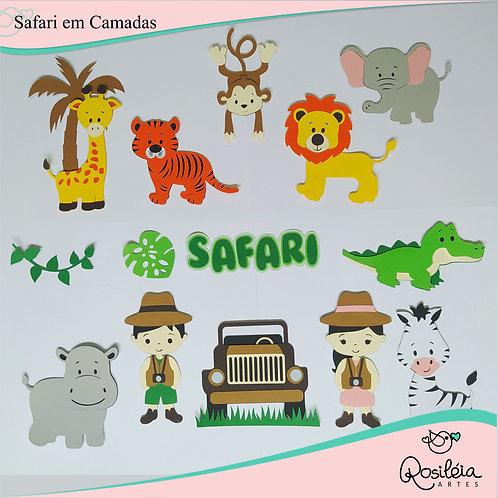 Combo Safari em Camadas