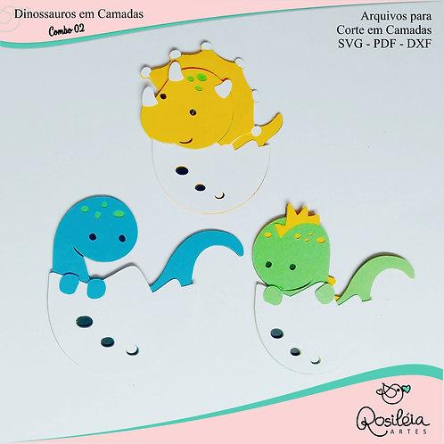 Combo Dinossauros Camadas 02