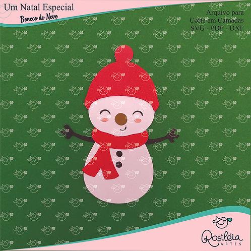 Arquivo Camadas Natal Boneco de Neve