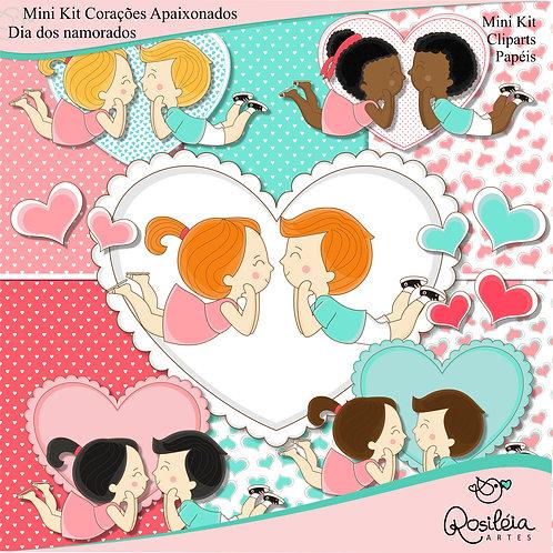 Mini Kit Corações Apaixonados_Dia dos Namorados