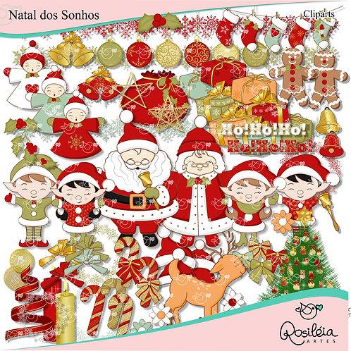 Kit Digital Natal dos Sonhos