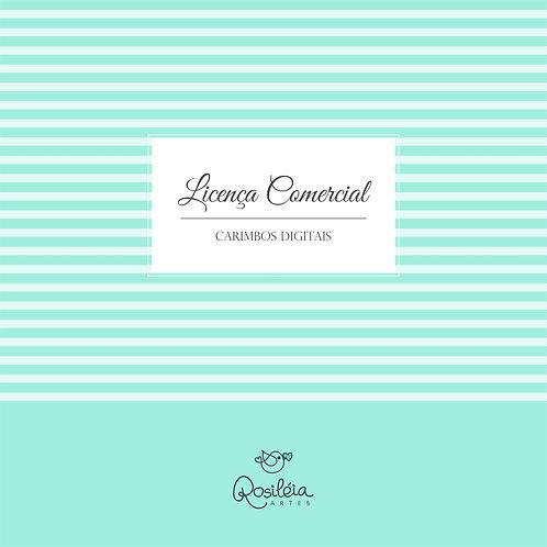 Licença Comercial Carimbos Digitais (Digital Stamps)