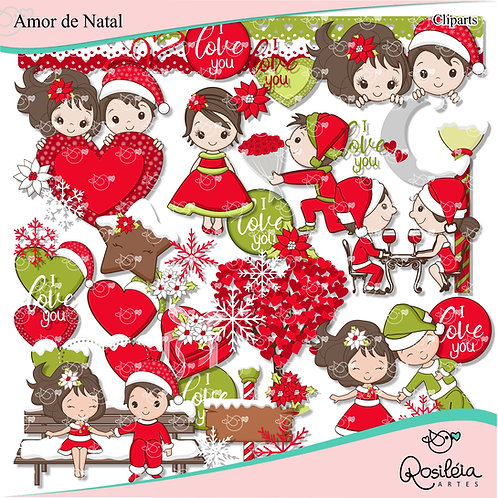 Kit Digital Amor de Natal