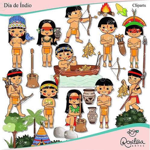 Kit Digital Dia de Índio