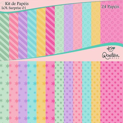 Kit de Papéis Dolls 01