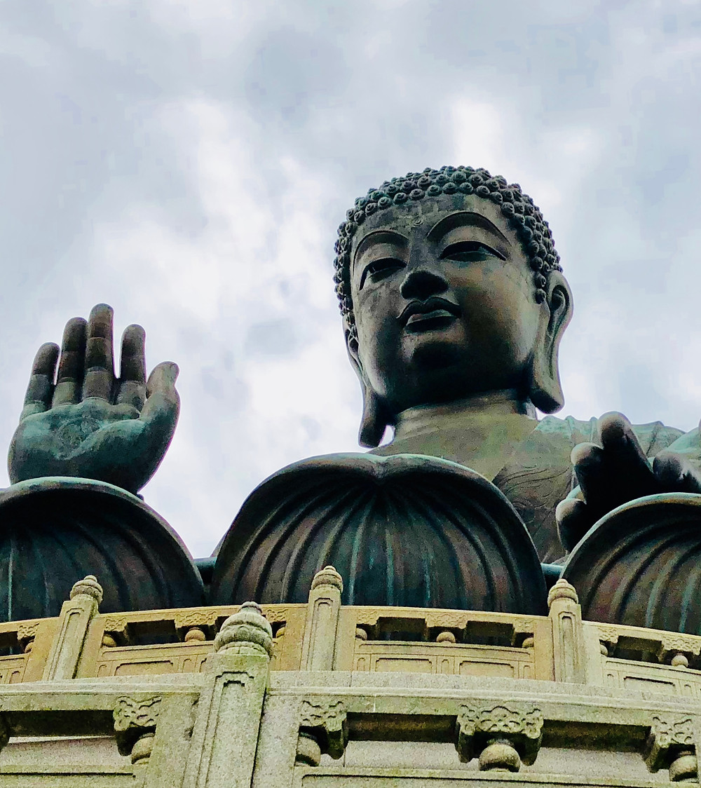 @mariebcreates #bigbudda #hongkongPicture of Big Budda in Hong kong