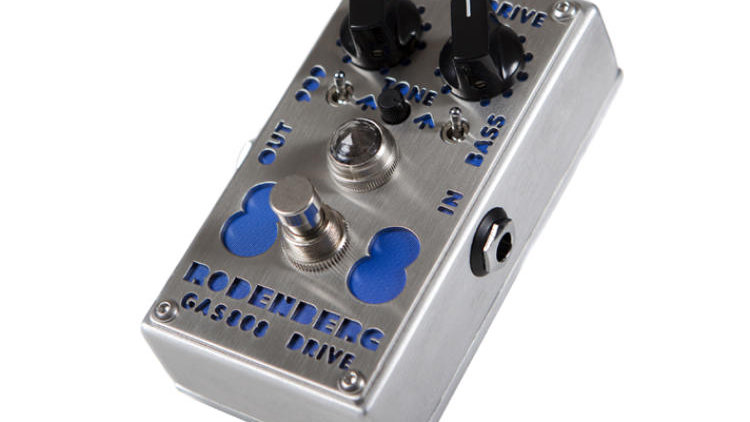 Rodenberg Pedal Gas 808 NG Overdrive (For Guitar)