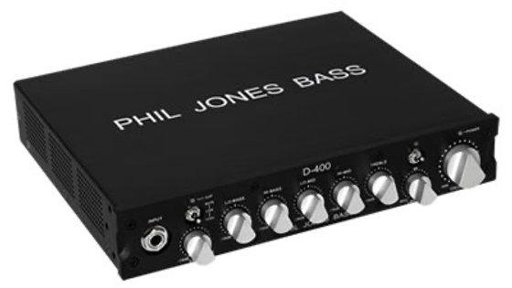 PHIL JONES BASS D-400 AMP HEAD