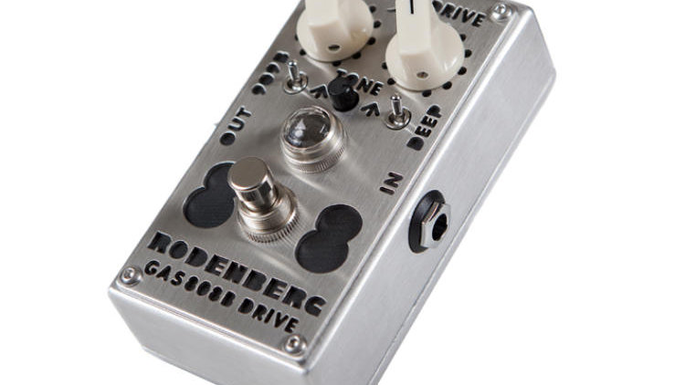 Rodenberg Pedal Gas 808B NG Overdrive (For BASS)