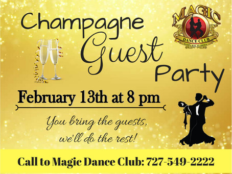 Champagne Guest Party!