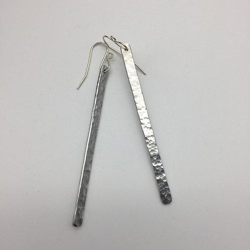 Boucles d'oreilles unetige en aluminium :: Model 1