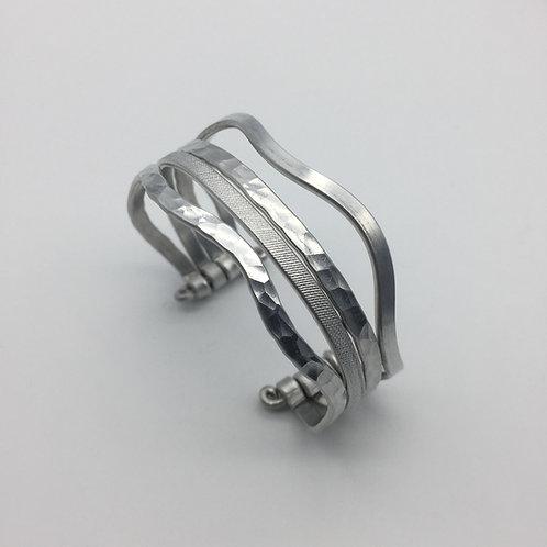 Bracelet en aluminium 4 rangs :: Model 3