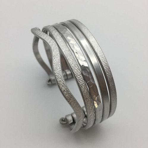 Bracelet en aluminium 5 rangs :: Model 2