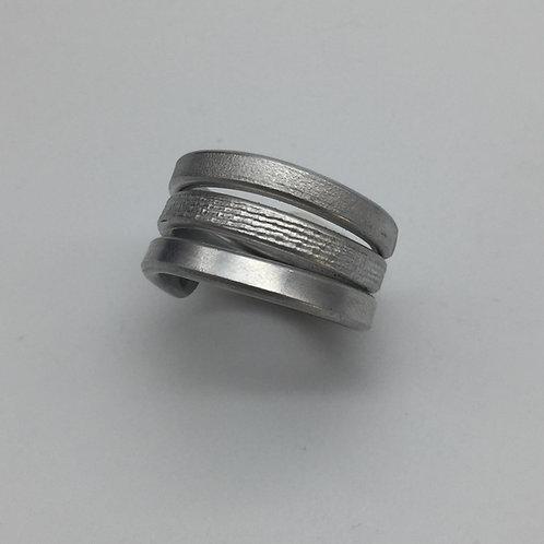 Bague en fil aluminium :: Model 2
