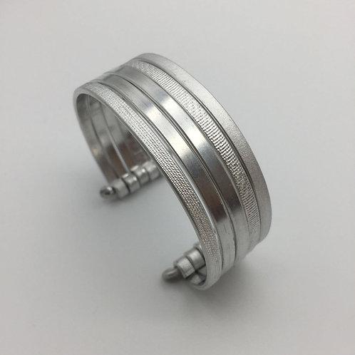 Bracelet en aluminium 5 rangs :: Model 1