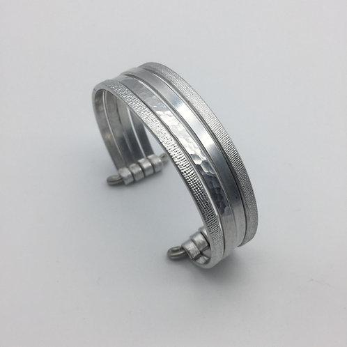 Bracelet en aluminium 4 rangs :: Model 1