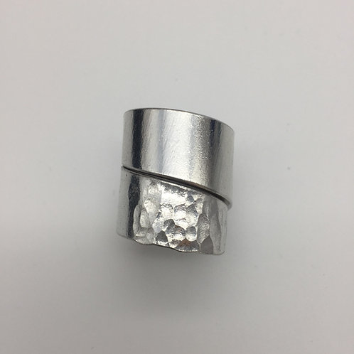Bague double en aluminium :: Model 3