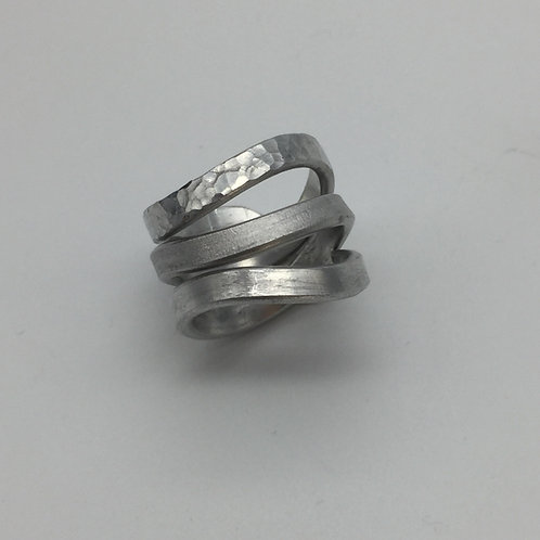 Bague fil aluminium :: Model 1