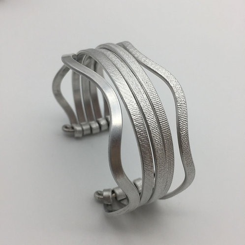 Bracelet en aluminium 5 rangs :: Model 3