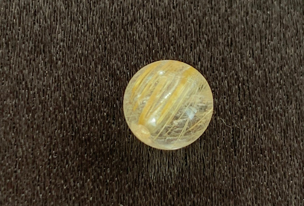 ゴールド針水晶(6.8㎜~6.9㎜)