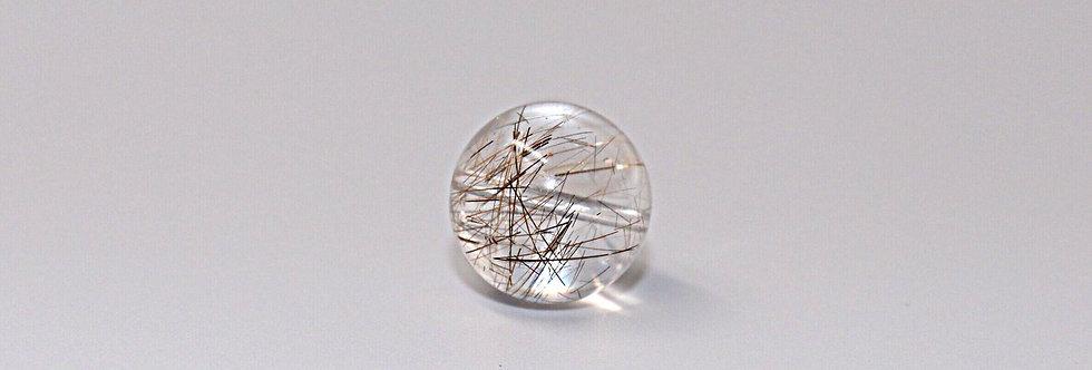 水晶ルチル(6.1㎜~6.2㎜)