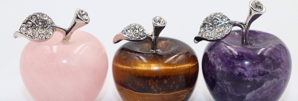 りんごパワーストーン(3個セット売り)