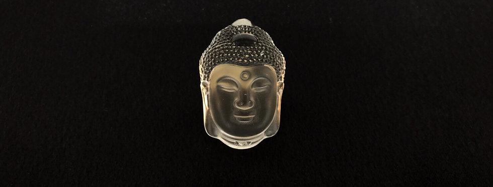 仏像の彫刻 水晶