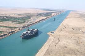 Powstanie szlak wodny równoległy do Kanału Sueskiego