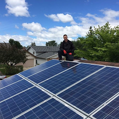 My first solar install with The Solar People