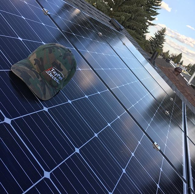 Another great day for a solar install an