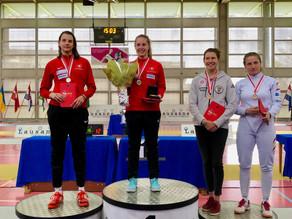 Sieg für Laura Stähli in Lausanne, 7.4.2019