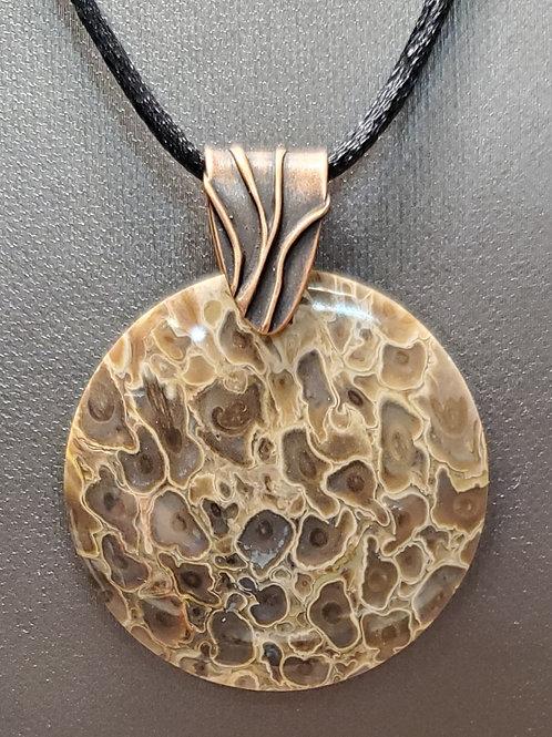 Petrified Palm Wood Pendant