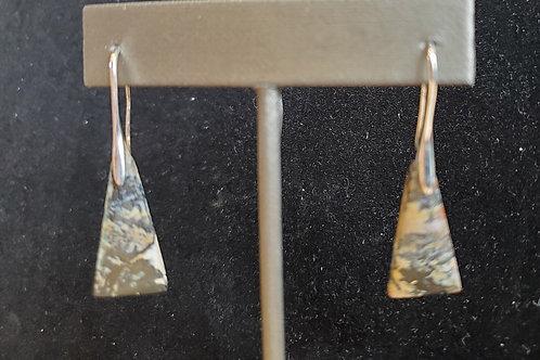 Tiger Stripe Agate Earrings