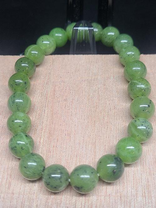Canada Jade Beaded Bracelet
