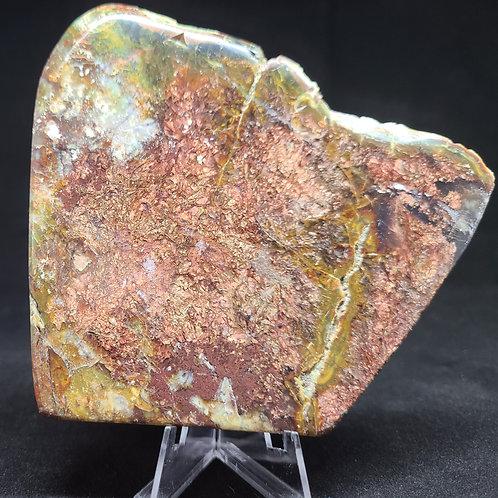 Polished Native Copper Slab