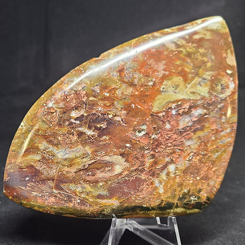 Polished Native Copper Slab