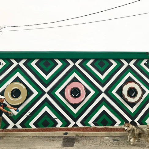 Murals, Donuts, Dogs, Oh My