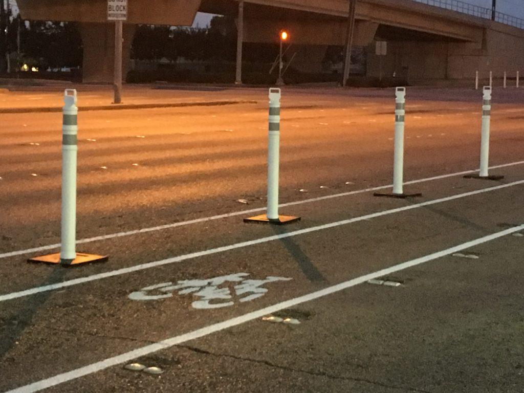 Richardon, Texas Bike Lanes Buffers